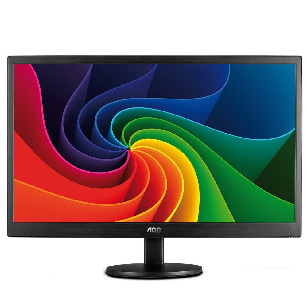"""Monitor LED AOC 15,6"""" Widescreen E1670SWU - USB"""