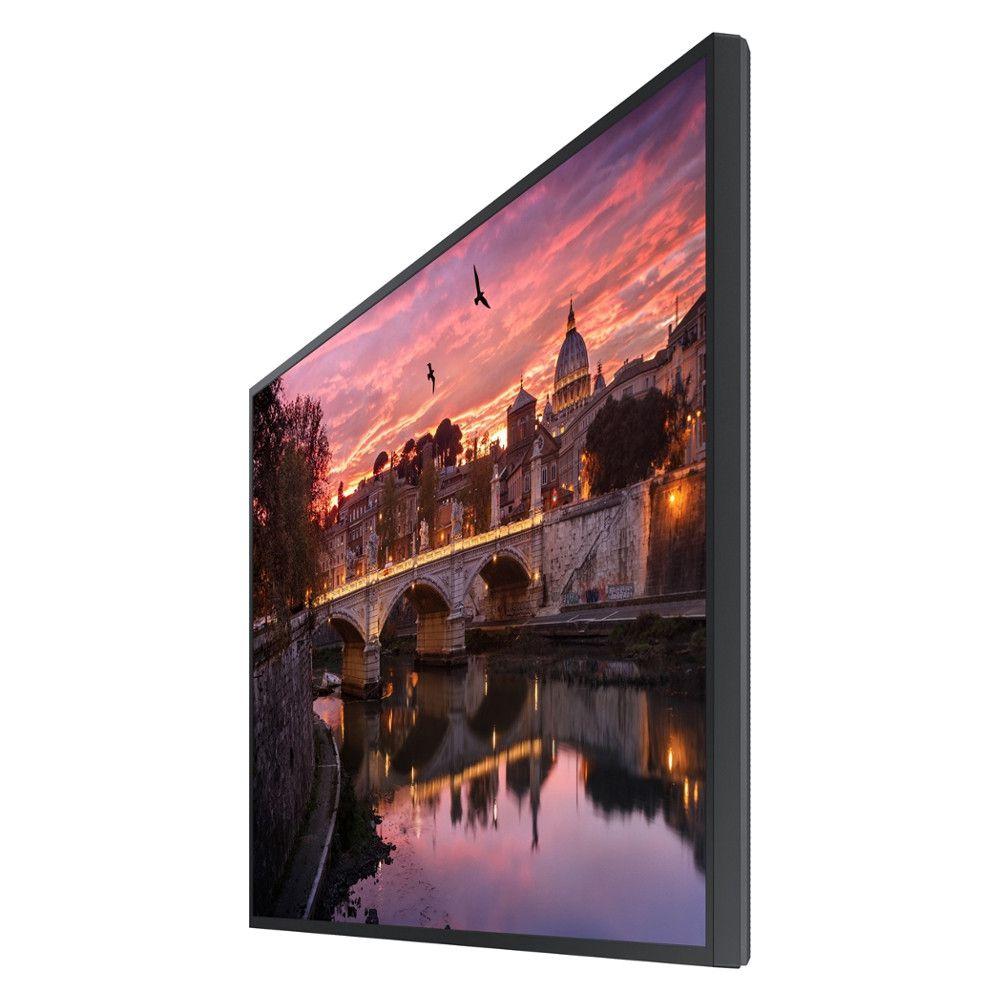 Monitor Profissional 43'' Samsung QB43R, UHD, STAND ALONE, HDMI, USB, DVI - Preto