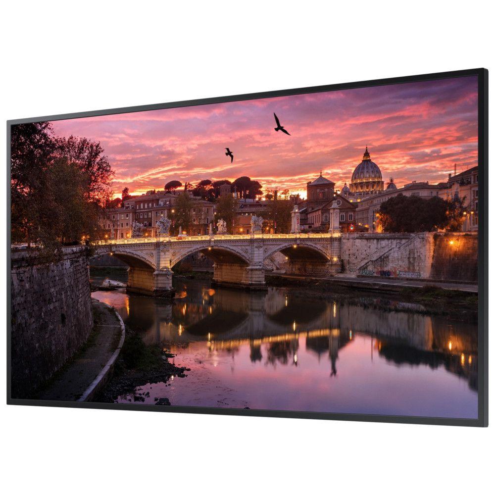 Monitor Profissional 49'' Samsung QB49R, UHD, STAND ALONE, HDMI, USB, BLUETOOTH, DVI - Preto