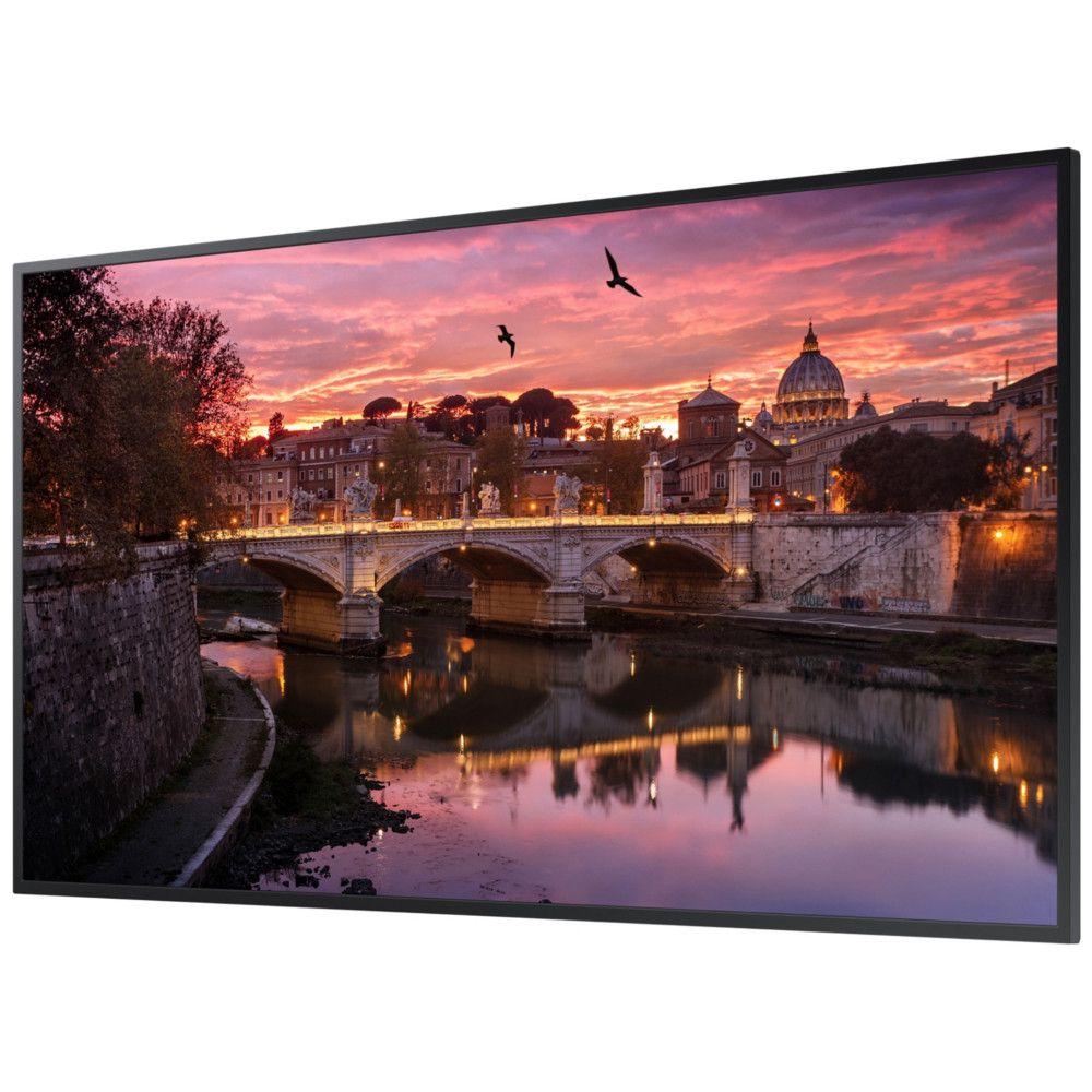 Monitor Profissional  55'' Samsung QB55R, UHD, Stando Alone, HDMI, USB - Preto