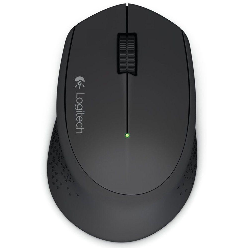 Mouse Wireless Logitech M280 - Preto