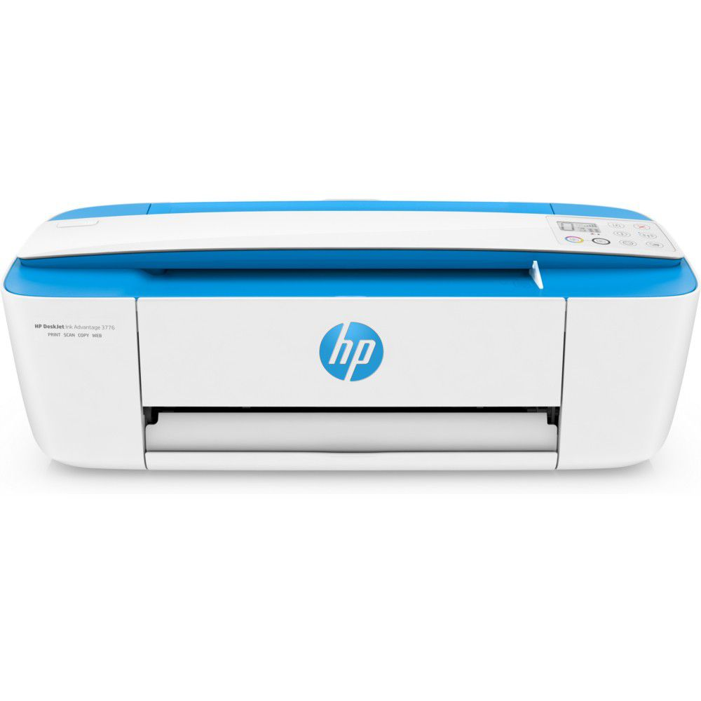 Multifuncional Jato de Tinta Color HP DeskJet Ink Advantage 3776 - Wifi, Branca