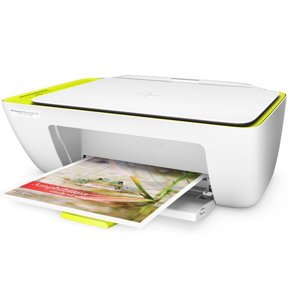 Multifuncional Jato de Tinta HP DeskJet Ink Advantage 2136 - Colorida