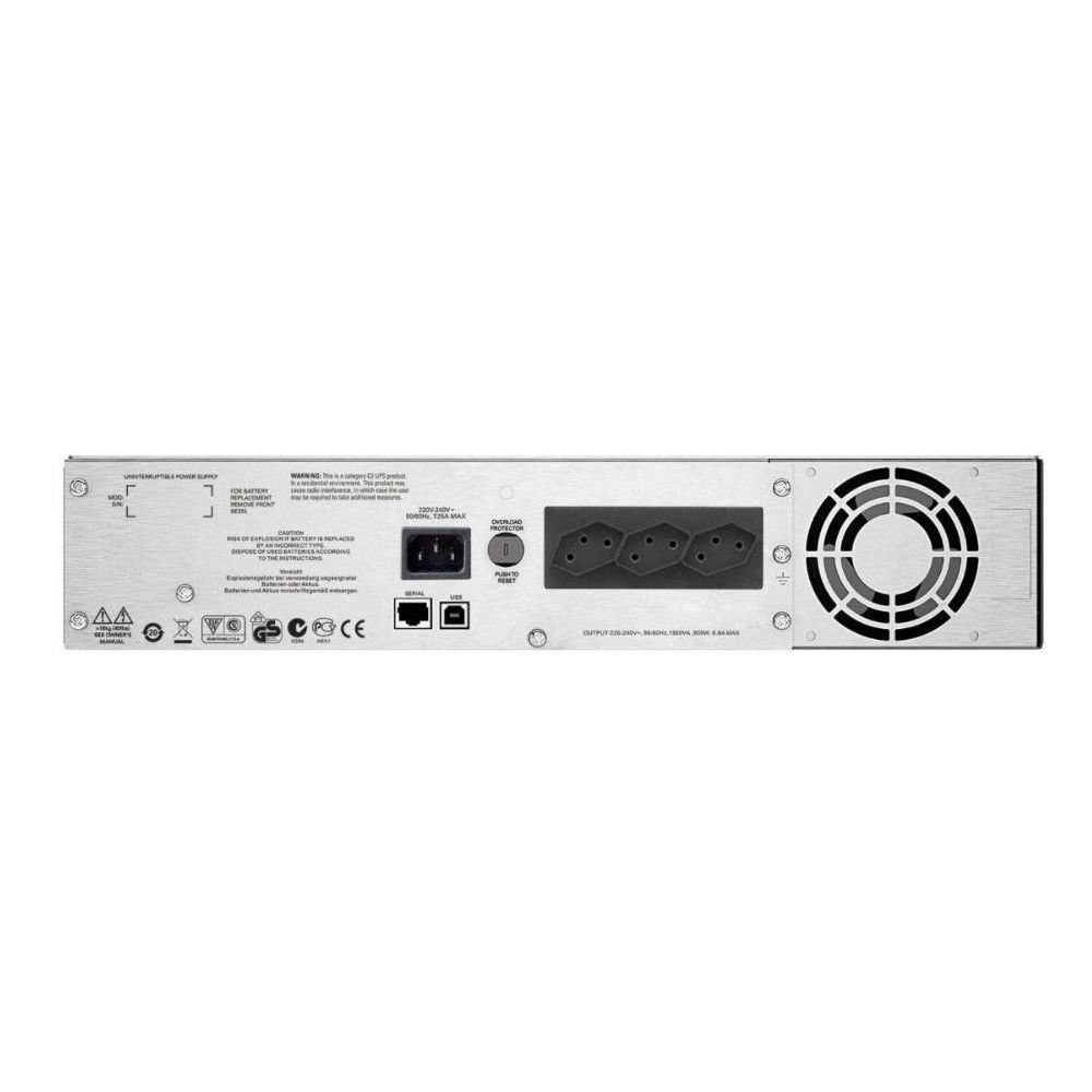 No Break APC Smart-UPS C Rack 2U SMC1500I2U-BR 1500VA - Monovolt 230V
