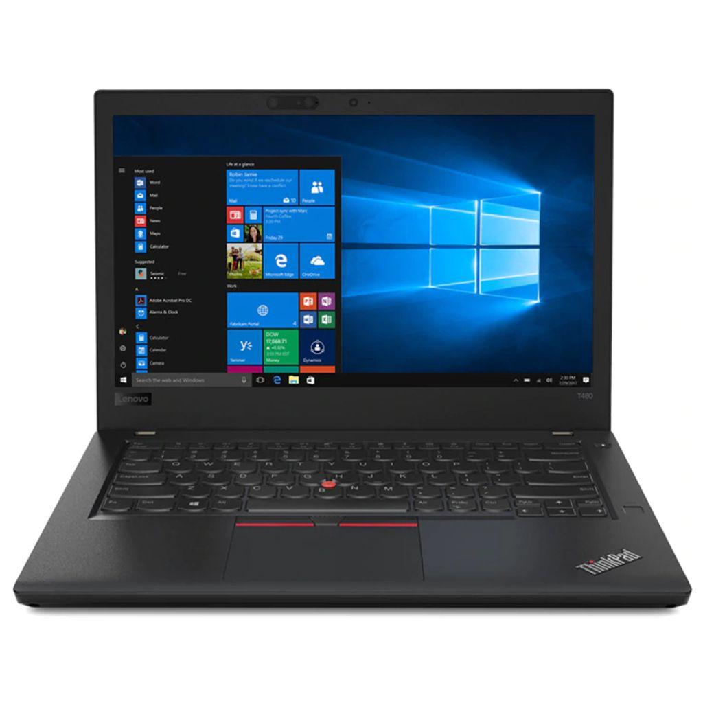 Notebook 14'' Led HD Lenovo T480 20L6SCWJ00, Core i5-8350U, 8GB, SSD 256GB, Windows 10 Pro - Preto