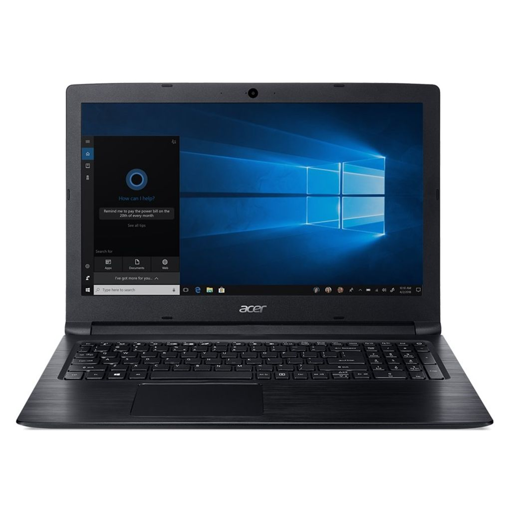 Notebook 15,6'' Acer Celeron, 4GB RAM, HD 500GB, Windows 10 Home, Preto - A315-33-C39F