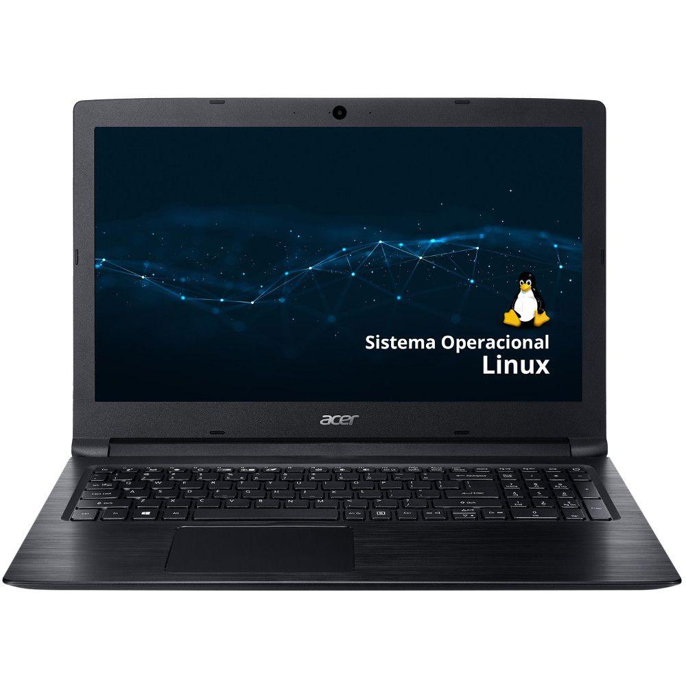 Notebook Acer A315-53-57G3 i5-7°Geração, 8GB, HD 1TB, Tela 15.6'' - Endless OS Linux