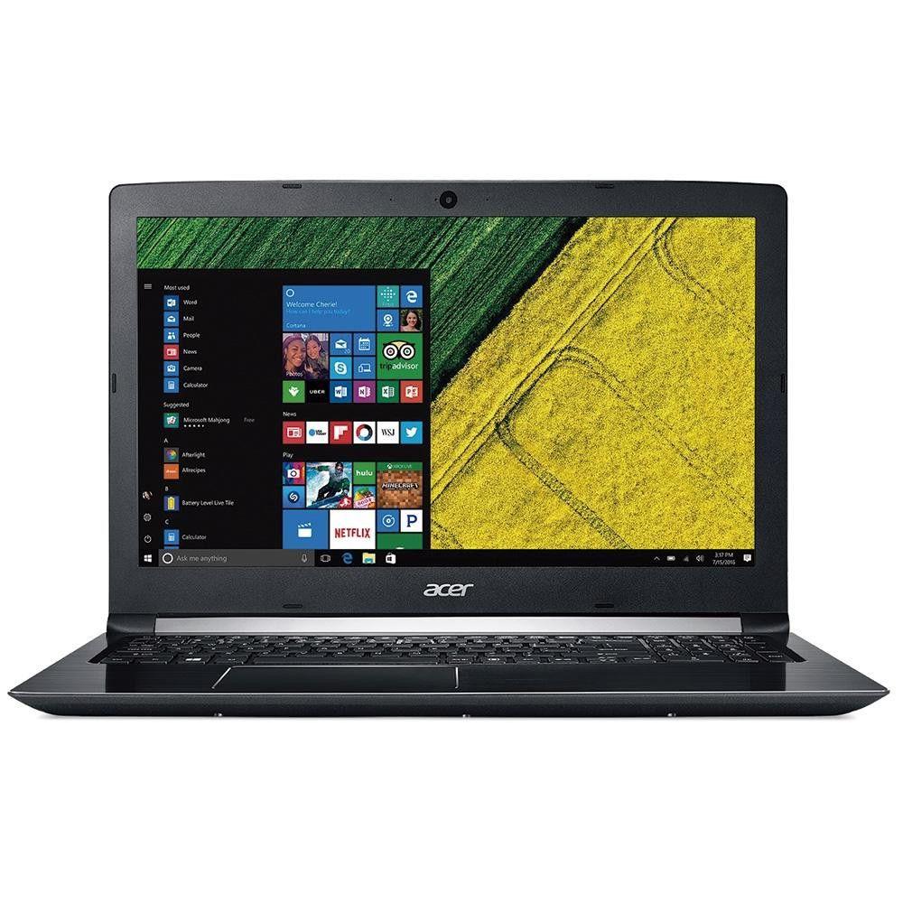 Notebook Acer A515-51-58DG, i5-7-Geração, 4GB, HD 1TB - Windows 10 Pro