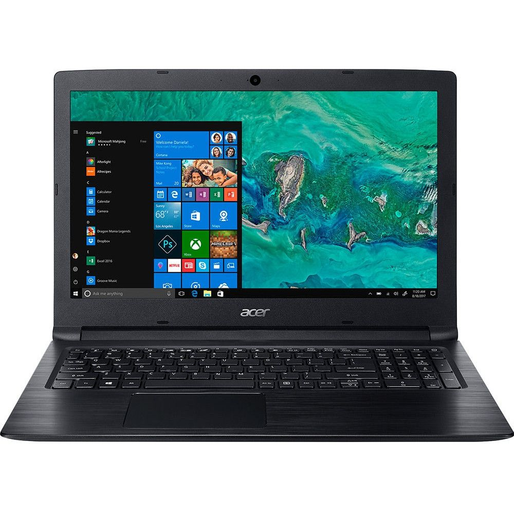 Notebook Acer Aspire 3 i5-7200U 4GB RAM HD 1TB Tela HD 15.6'' Windows 10 - A315-53-55DD