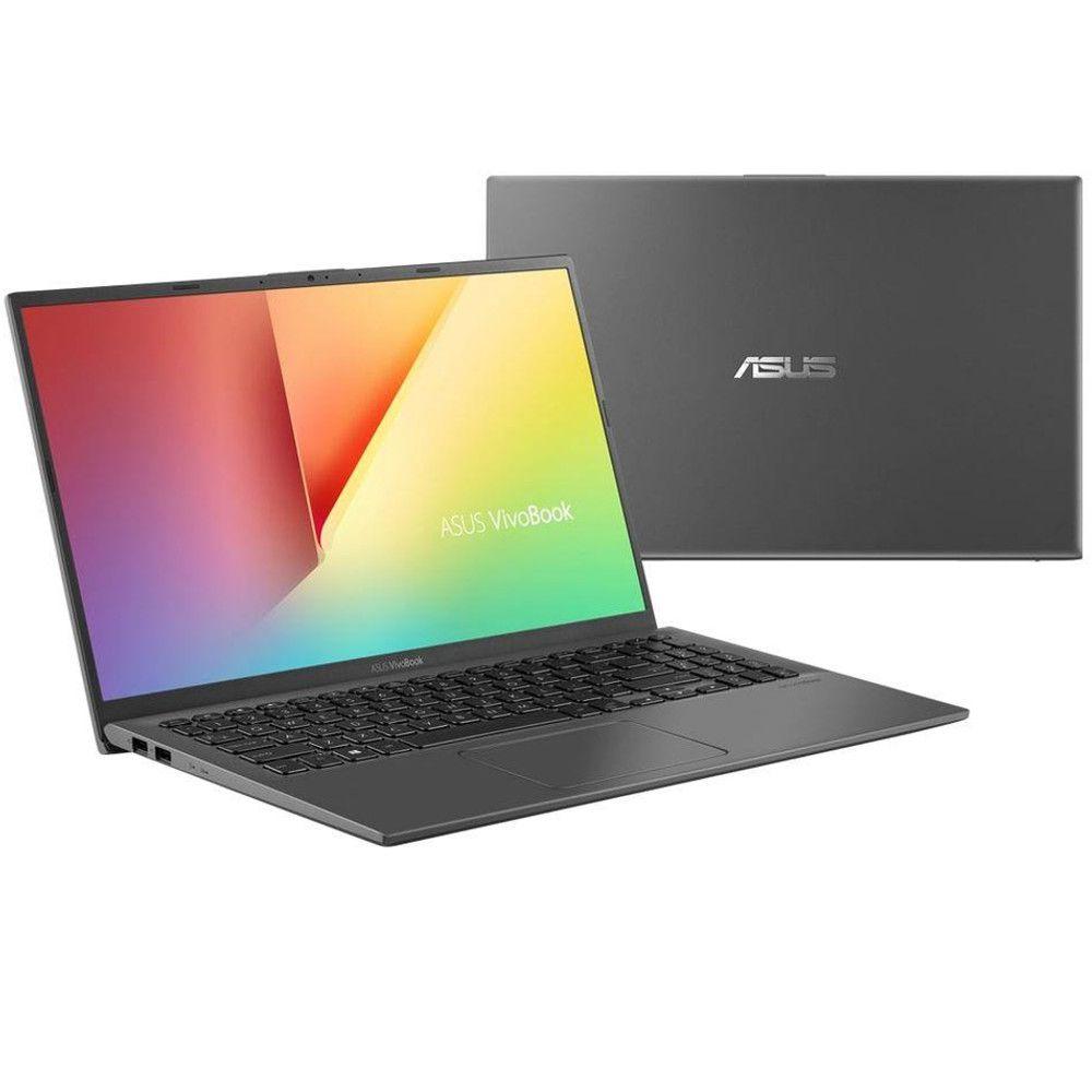 "Notebook Asus X512FA 8ª Intel Core I5 8GB 1TB Tela 15,6"" Windows 10 - Cinza Escuro"
