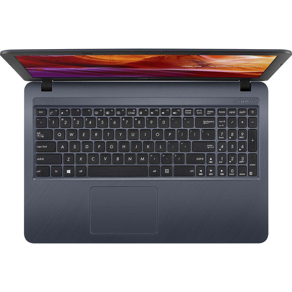 "Notebook Asus X543UA Intel Core I3 4GB 1TB 15,6"" Windows 10 - Cinza Escuro"