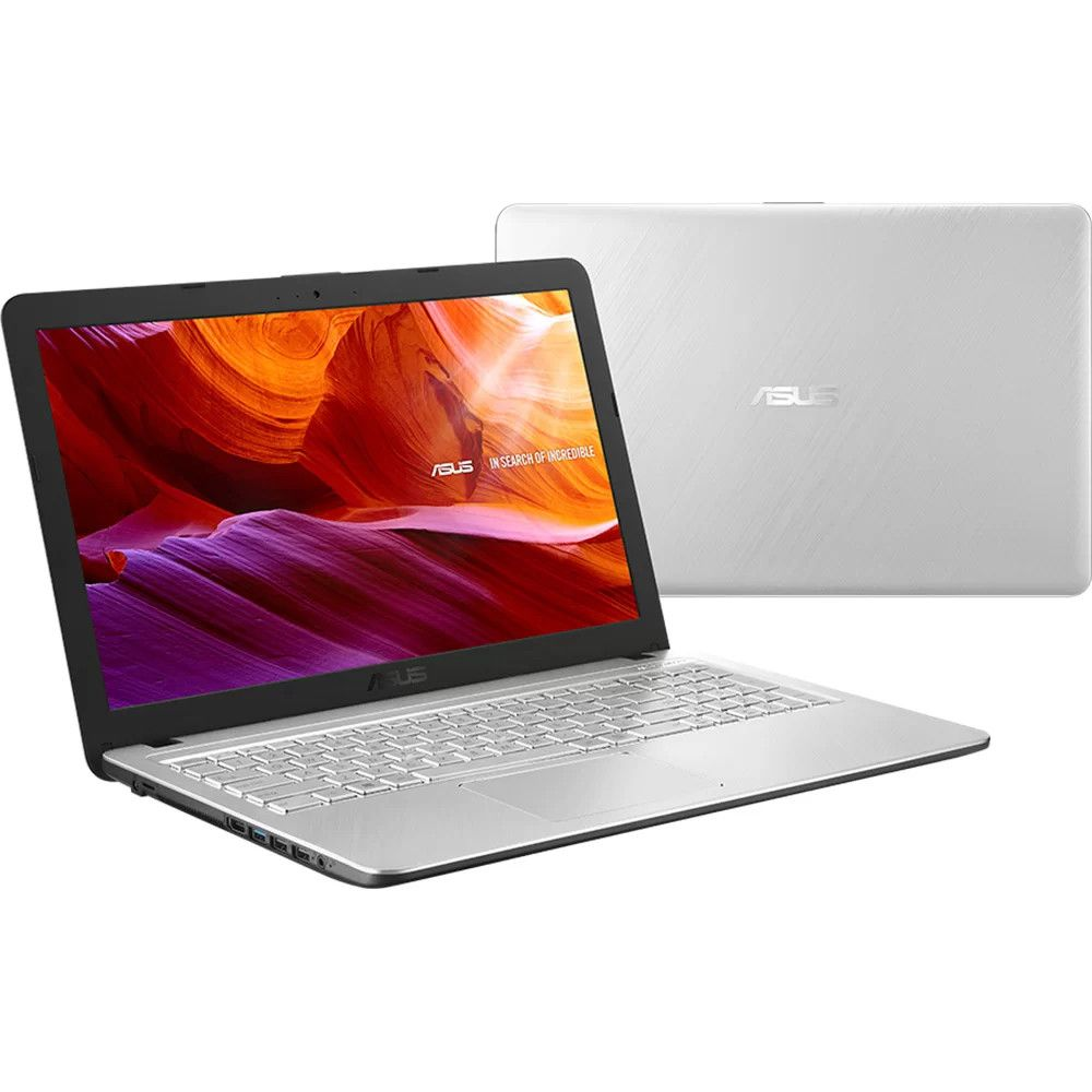 "Notebook Asus X543UA Intel Core I3 4GB 1TB 15,6"" Windows 10 - Prata"