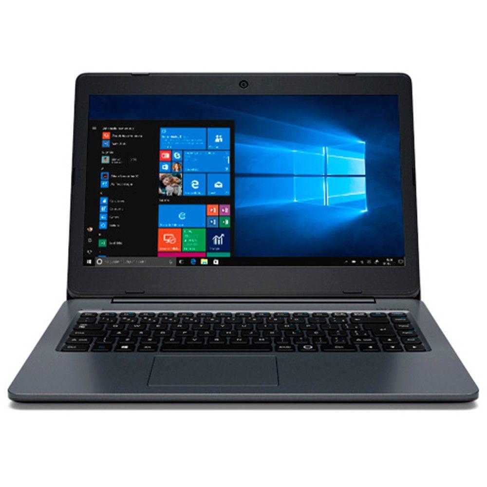 Notebook Positivo Master N1240, Intel Celeron, Ram 4GB, Flash 32GB, Tela 14'' - Windows 10 Pro