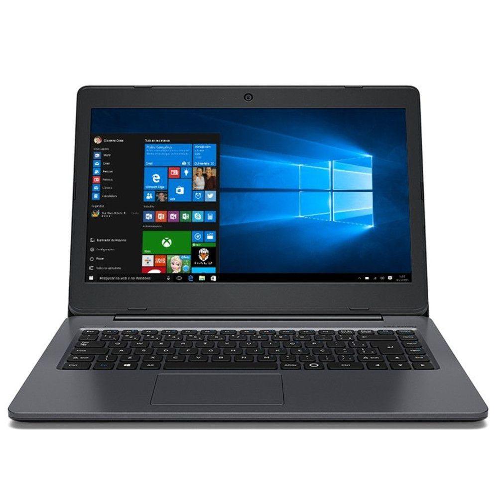 "Notebook Positivo Master N140I, Intel Core i3, 4GB, HD 500GB, Tela 14"", Wi-Fi, Windows 10 Pro"