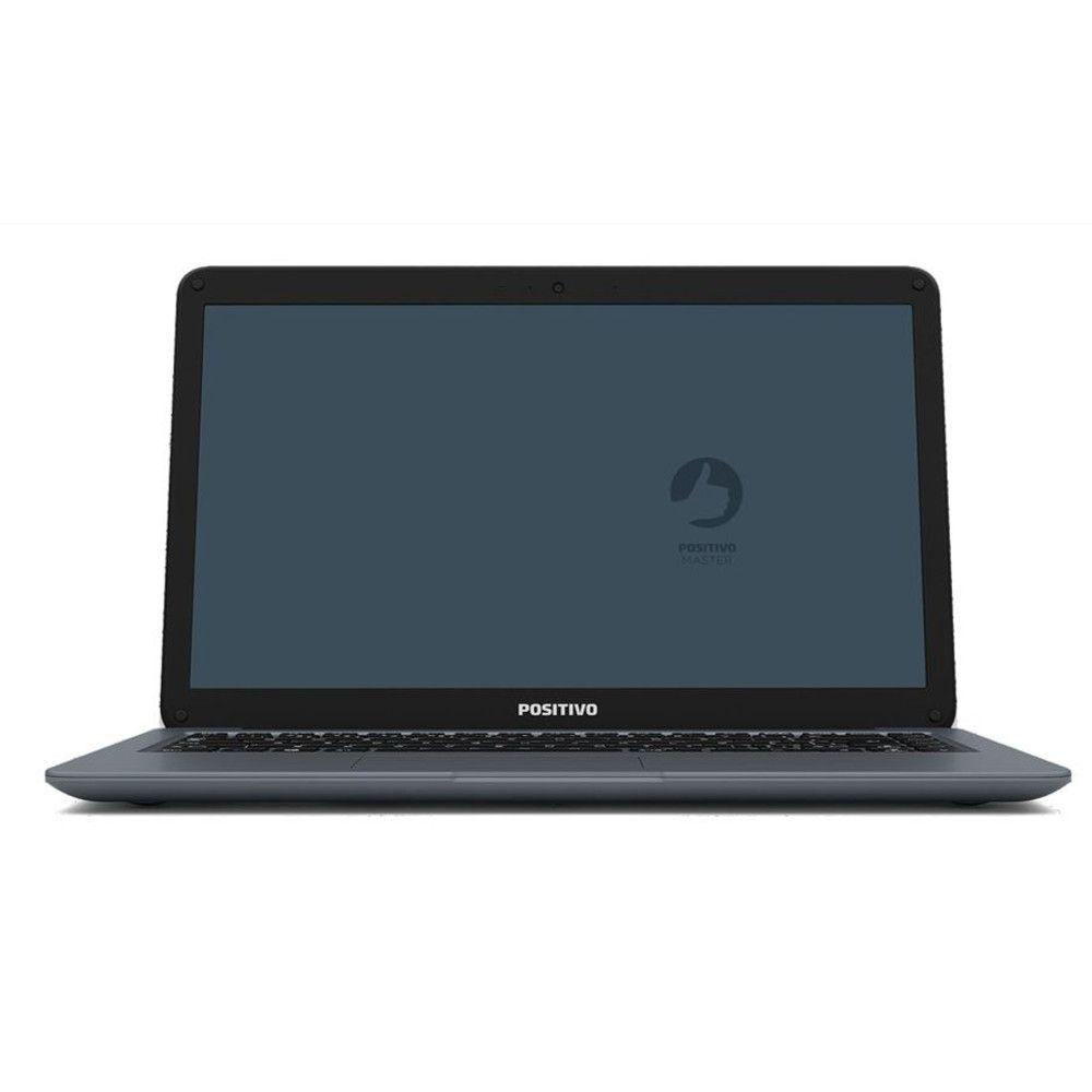 Notebook Positivo Master N2140, Intel® Core™ i3-7ª Geração, RAM 4GB, HD 500 GB, Tela 14'' - Shell EFI