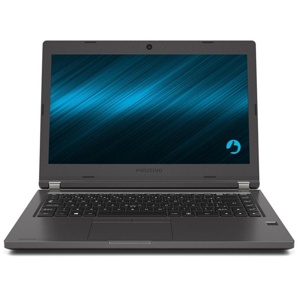 "Notebook Positivo Master N6140 Blackstone, Intel Core i3, 4GB, HD 500GB, Tela 14"" HD, Wi-Fi, FreeDOS"