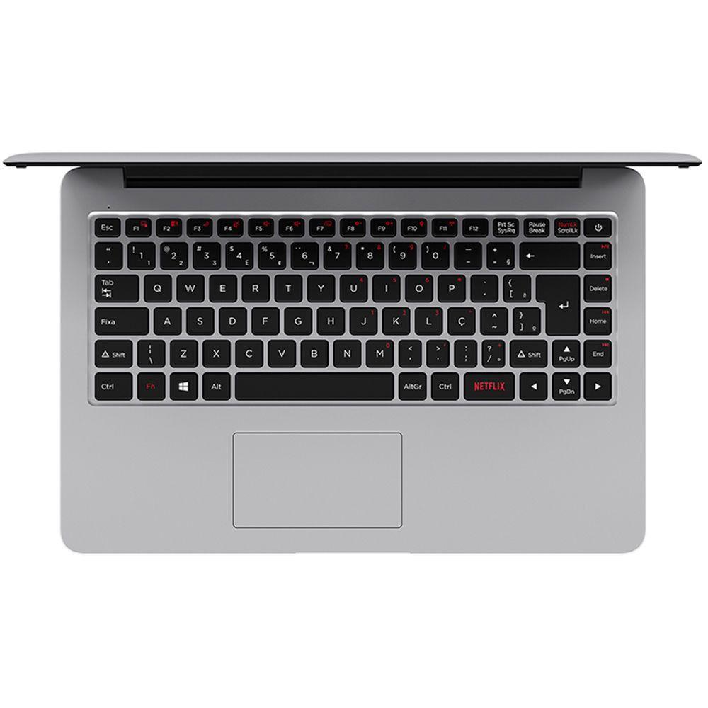 Notebook Positivo Motion C4500A, Intel Celeron, Ram 4GB, HD 500GB, Tela 14'' - Windows 10 Home