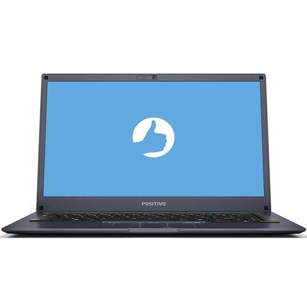 Notebook Positivo Motion Q232B, Intel Atom, Tela 14'', Ram 2GB, Flash 32GB - Windows 10 Home