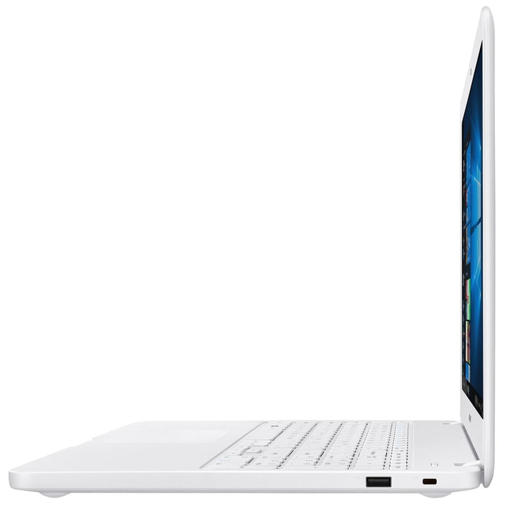 Notebook Samsung Essentials E20 Celeron 4GB RAM, HD 500GB, Tela 15.6'',Windows 10 - Branco