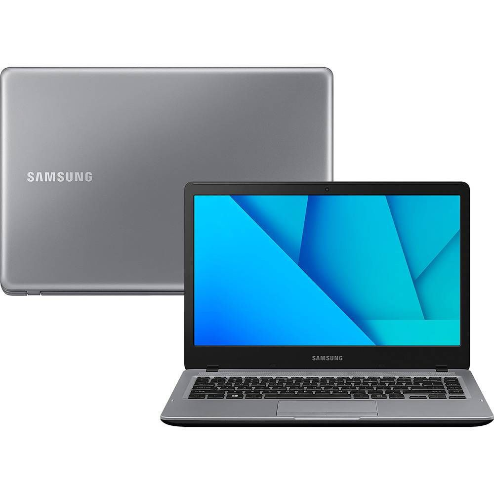 Notebook Samsung Essentials  E25S Intel Celeron, Tela 14'' 4GB 500GB Windows 10