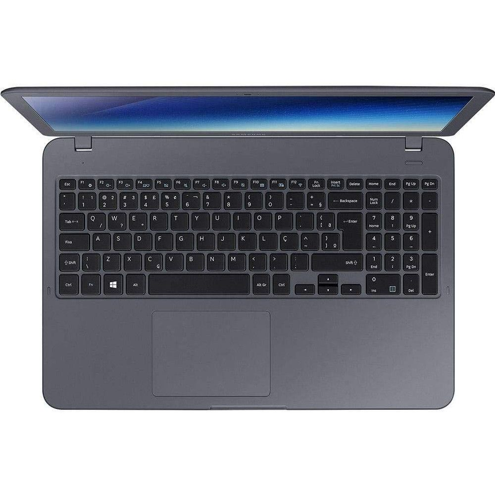 Notebook Samsung Expert GFX X55 i7 16GB RAM, HD 1TB+SSD 128GB, Tela 15.6'', Windows 10 - Titanium