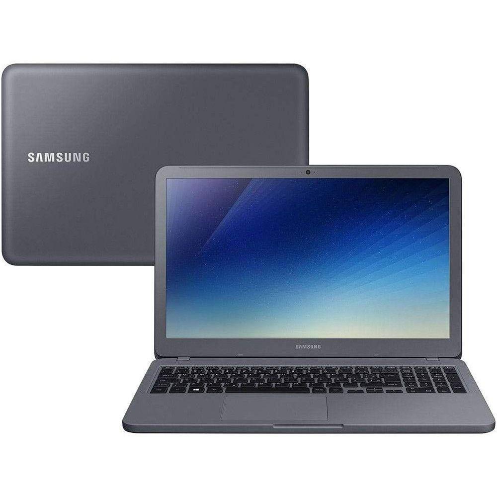 Notebook Samsung Expert X20 i5 4GB RAM, HD 1TB, Tela 15.6'', Windows 10 - Titanium