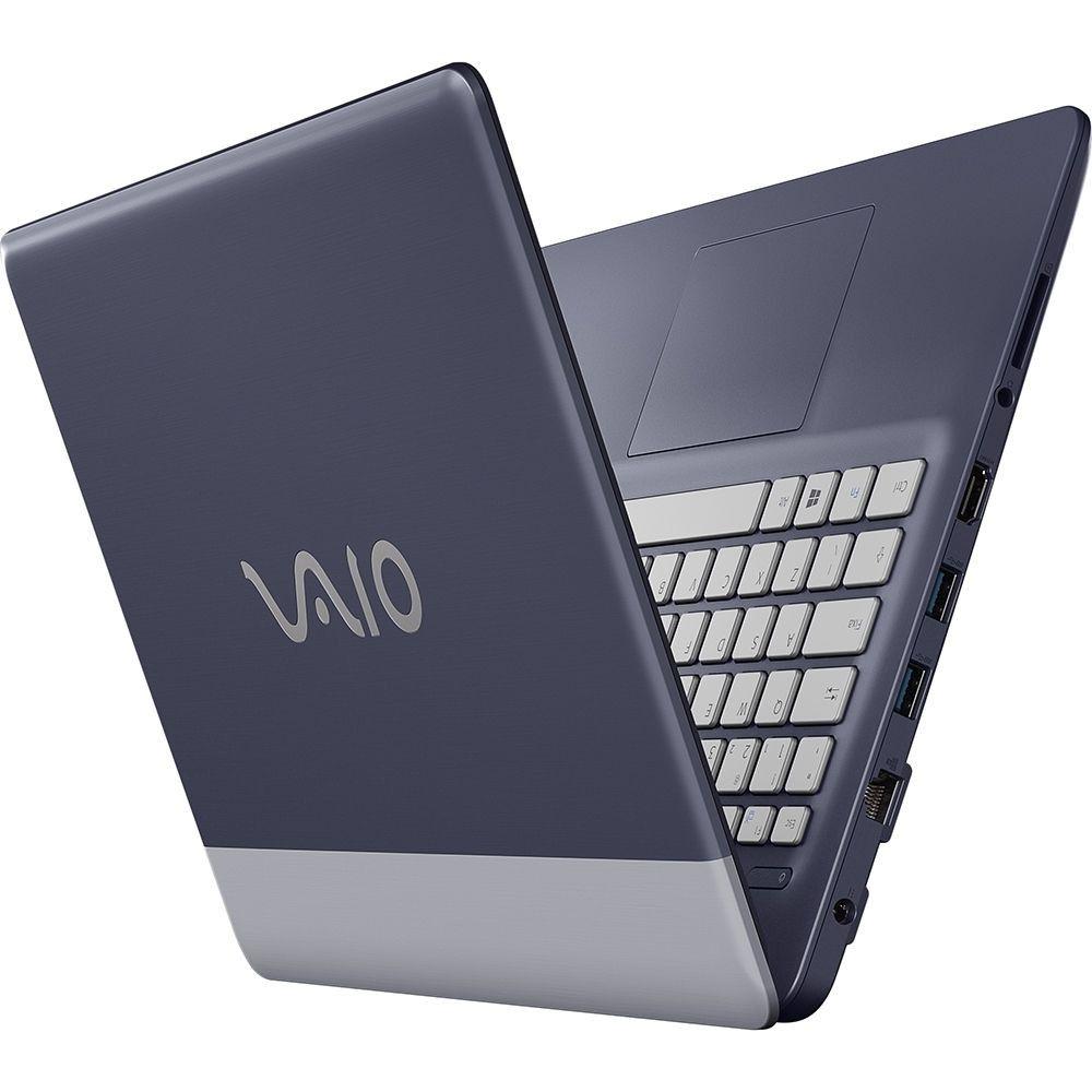 Notebook Vaio C14, Intel® Core™ i7, RAM 8GB, SSD 256GB, Tela 14'' - Windows 10 Pro