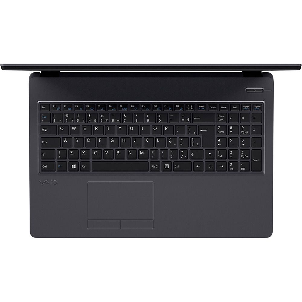 Notebook Vaio Fit 15S, i7-7°Geração, Ram 8GB, HD 1TB, Tela 15.6'' - Windows 10 Home