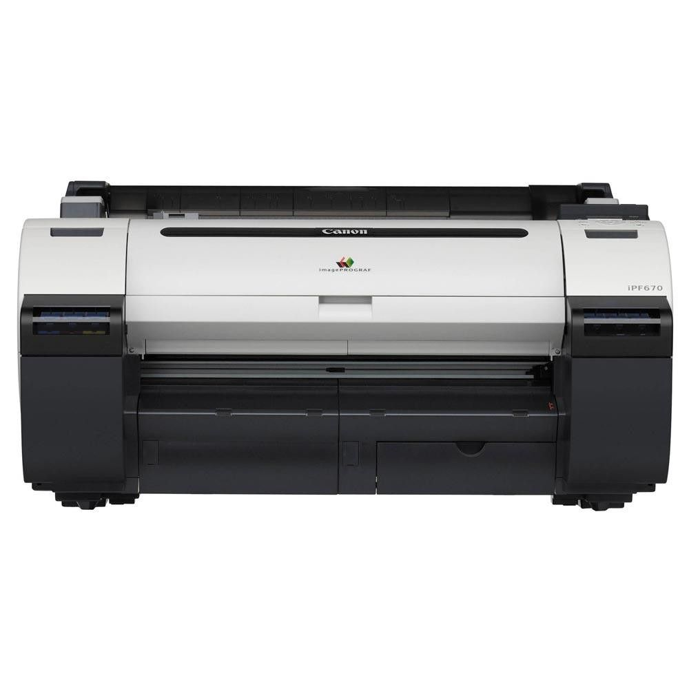 Impressora Plotter Canon ImagePROGAF iPF670 (24 pol.)