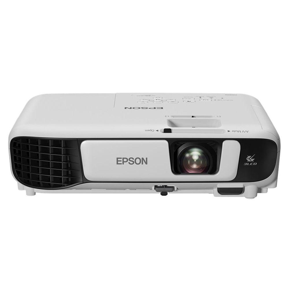 Projetor Epson Powerlite X41+, 3600 Lumens, XGA, 3LCD - V11H843024