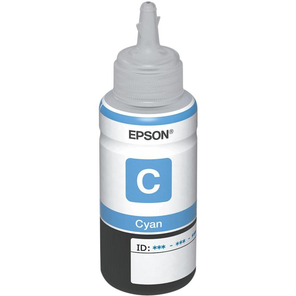 Refil de Tinta Epson 664 Ciano 70ml T664220