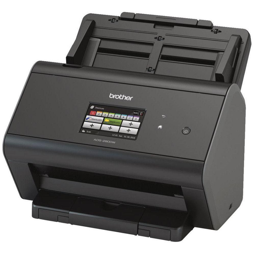 Scanner de Mesa Brother ASD2800W - USB, Wireless