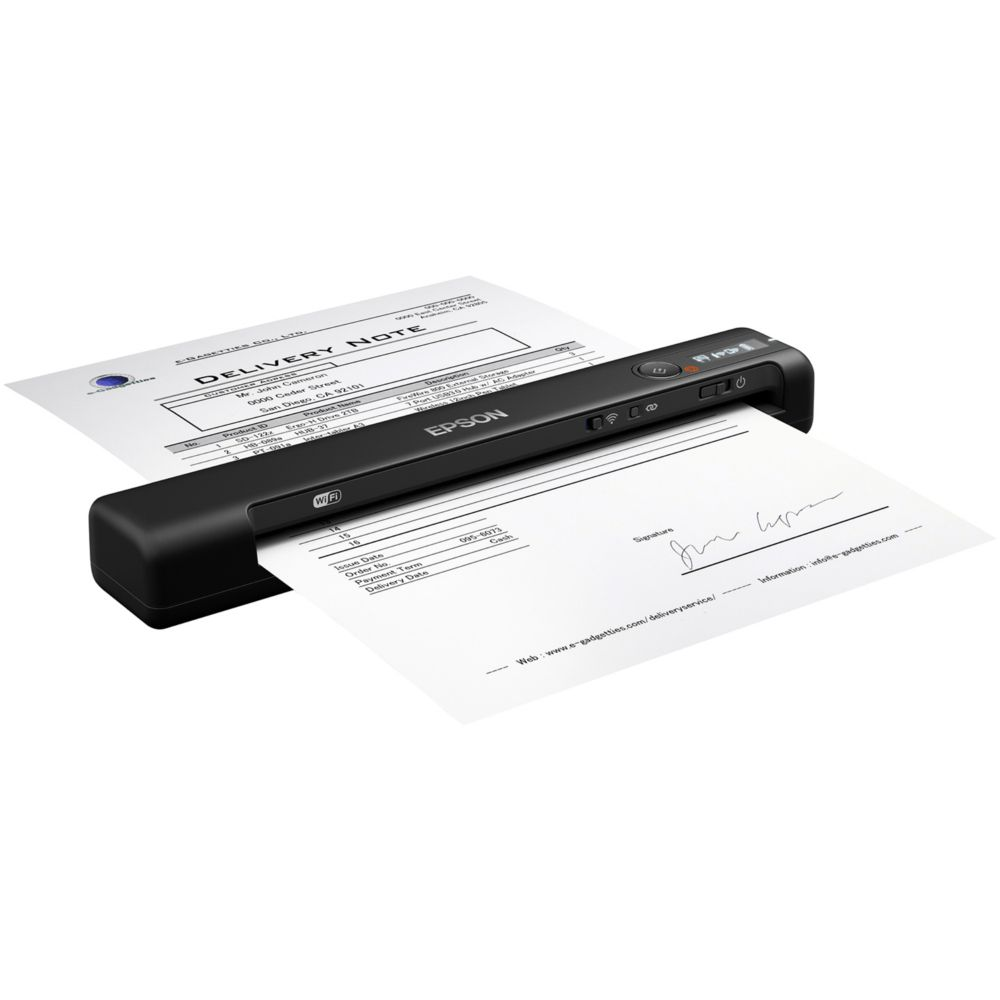 Scanner Portátil Epson WorkForce Wireless, 1200dpi - ES-60W