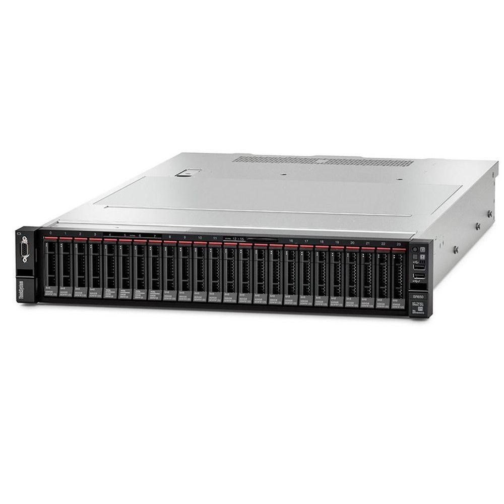 Servidor Lenovo Thinksystem SR650 Silver 4114 10C, 85W, 2.2GHz, 1x32GB, 2x550W - 7X06100NBR