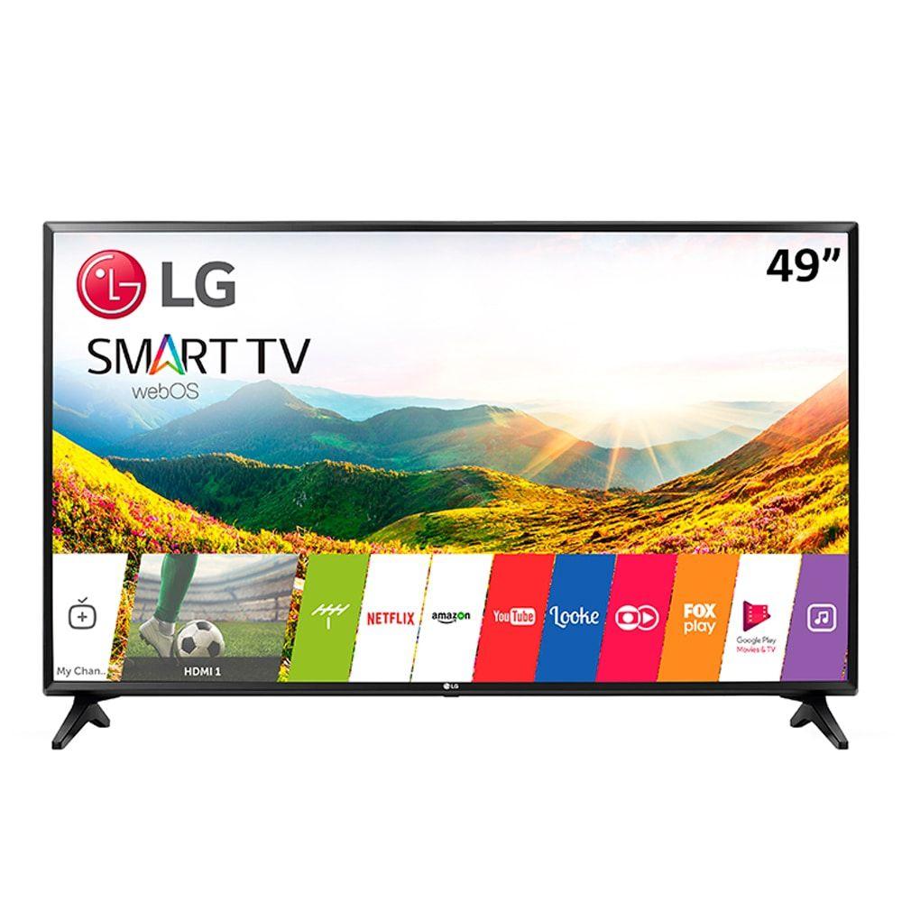 Smart TV 49'' LCD LED LG 49LJ551C, Full HD, com Wi-Fi, 2 HDMI, USB, 60Hz, Modo Hotel