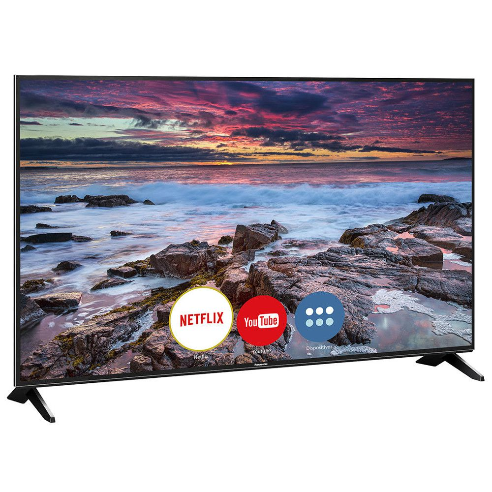 Smart TV 4K IPS LED 55'' Panasonic TC-55FX600B - UHD, HDMI, USB, Wireless