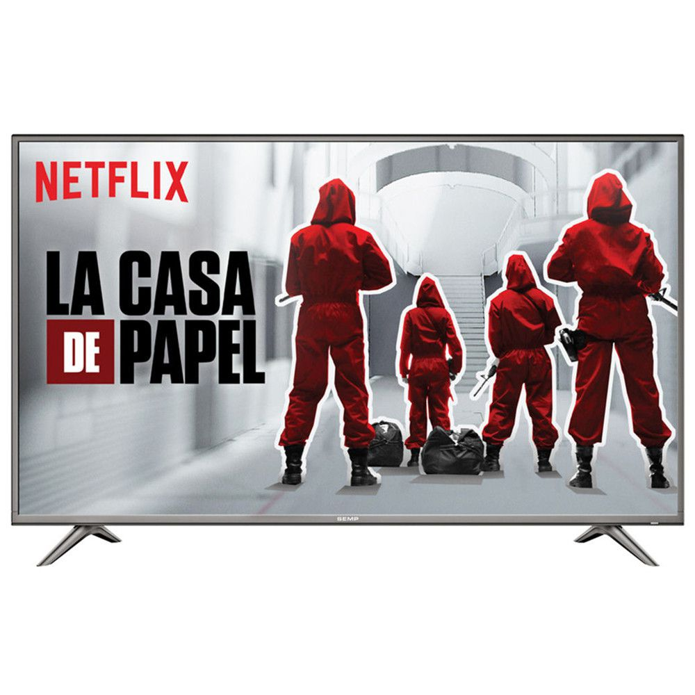 "TV LED UHD 49"" Semp-TCL 49SK6200 Smart 4K, Wifi, USB, HDMI, Netflix, Youtube."