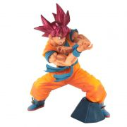 Action Figure Dragon Ball Super Blood Of Saiyans Special Vol. 6 Super Saiayan God Sun Goku 29826/29827