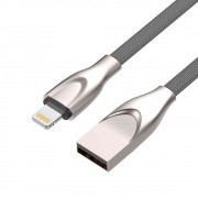 Cabo USB Lightning C3 Tech Fast Charge 1M CB-L180GY Prata