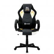Cadeira Gamer Evolut EG901 Santos E-SPORTS Branco e Preto