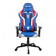 Cadeira Gamer Evolut EG920 Heroes Azul, Branco e Vermelho