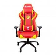 Cadeira Gamer Evolut EG920 Heroes Iron Vermelho e Dourado