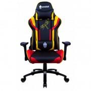 Cadeira Gamer Evolut EG920 Heroes Preto, Dourado e Vermelho