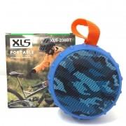 Caixa de Som Bluetooth XLS A Prova D'água XLS-238BT Azul