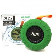 Caixa de Som Bluetooth XLS A Prova D'água XLS-238BT Verde
