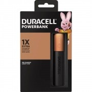 Carregador Portátil Power Bank Duracell USB 3350mAh 1x Carga