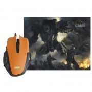 Combo Gamer OEX Clash MC-103 Mouse + Mousepad