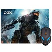 Combo Gamer OEX War MC-100 Mouse + Mousepad