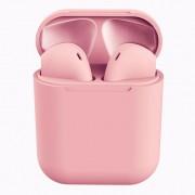 Fone de Ouvido Bluetooth Rohs Earpods InPods 12 Macaron Rosa