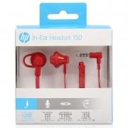 Fone de Ouvido HP Intra-Auricular H150 Vermelho ? X7B11AAABL